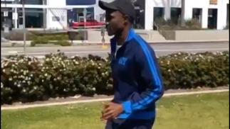 Workout With Olympian, Prince Mumba
