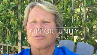 Opportunity, Olympian Ann Meyers Drysdale