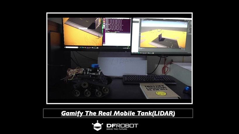 Gamify The Real Mobile Tank(LIDAR)