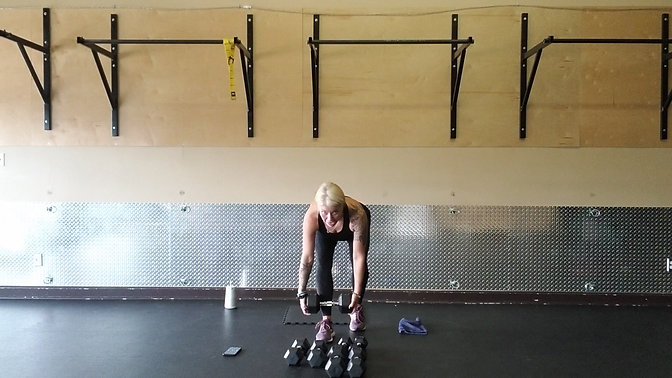 Weighted Workout Week 3