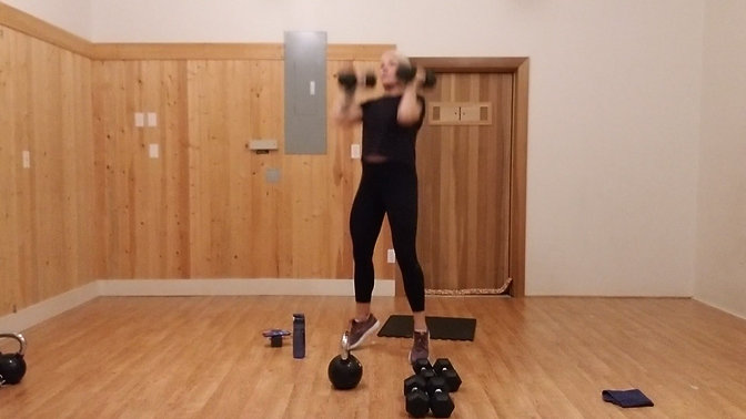 Weighted Workout Week 4