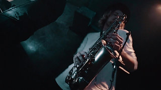 Ashley James on Sax