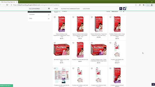 How to Order from Chet Johnson Drug Online
