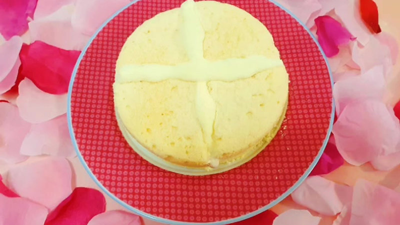Mother's Day specially presents tutorial - Japan Style Ice Yoghurt Chiffon Cake