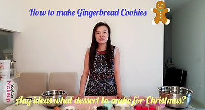 Learn how to make Gingerbread Cookies