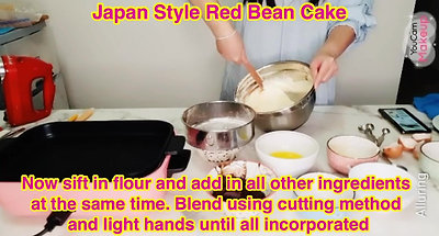 Japan Style Red Bean Cake