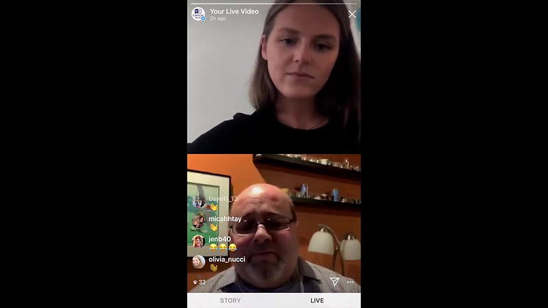 Instagram Live Reading and Q&A with Michael Bradley