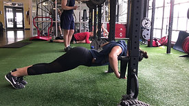 Banded Stability Pushup