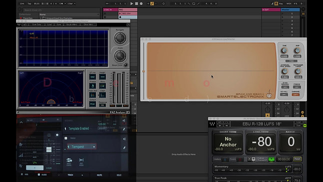 YA Mastering Template (DSI Tempest Processing)
