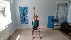 Mini Ball Workout 1 - Chair