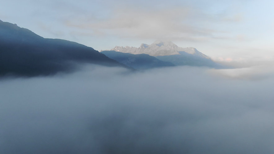Morgens in Sils-Maria