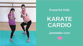 Powerful Kids Karate Cardio