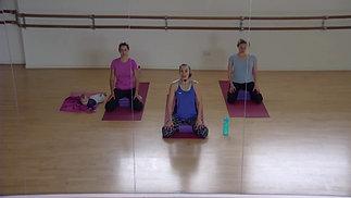 Postnatal Pilates (first class after baby)