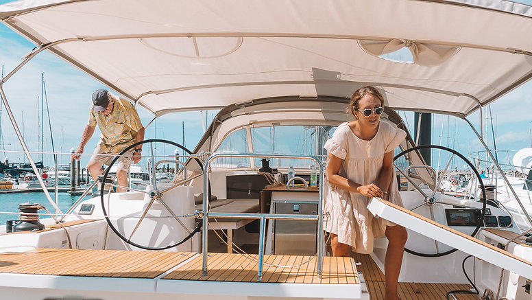 Dolce Vita Onboard - Dufour 56 Exclusive