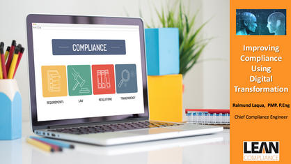 Improving Compliance Using Digital Technologies