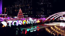 Nathan Phillips square Holiday Market time-lapse