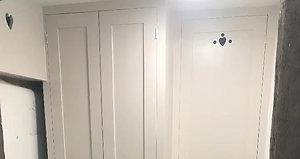 Wash Room Cabinets.