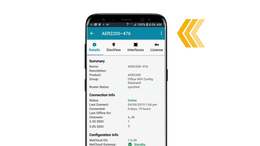Cradlepoint NetCloud Manager Mobile App for Android