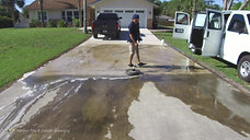 Power Washing West Palm Beach Driveway