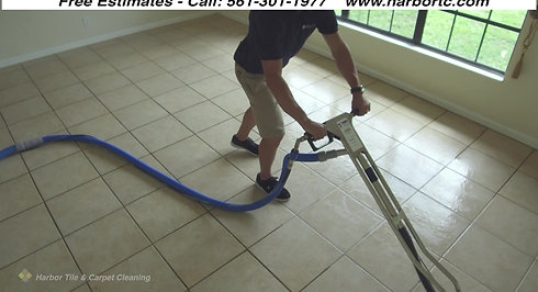 Harbor TC Demos Tile And Grout Cleaning