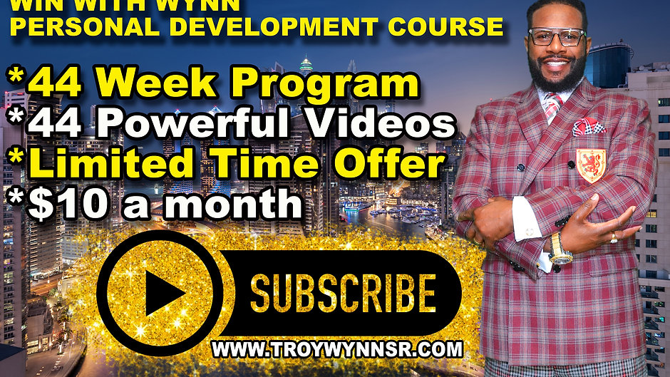 Win With Wynn Personal Development Online Video Course