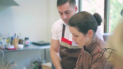 Мастер-класс  по современным десертам Анны Феликовой. Июнь 2017г.