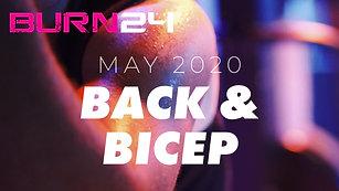 BURN24 May 2020 Back and Bicep