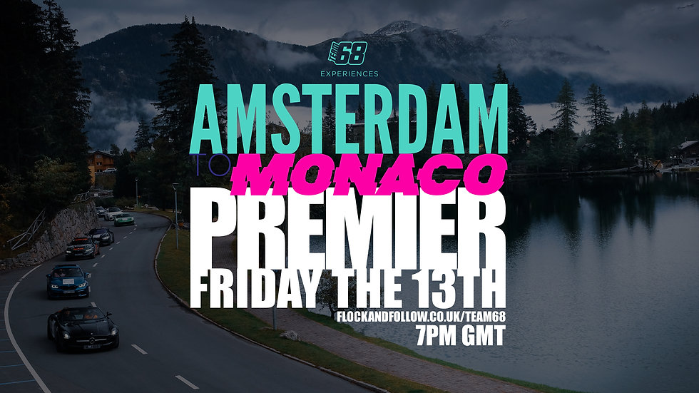 AMSTERDAM TO MONACO FRIDAY 13TH TEASER
