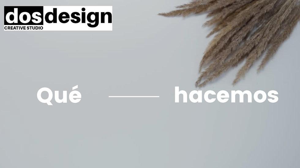 DOS DESIGN - Vídeo de presentación