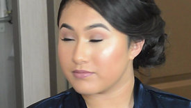Jr. Bridesmaid Makeup Look