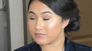 Jr. Bridesmaid Makeup Look