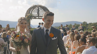 Alex & Gabrielle's Wedding Trailer