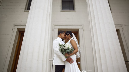 Downtown Wedding at The Hilton 360 Hotel
