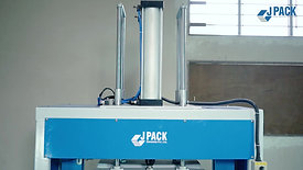 JPack Automatic strapping machine with pressing
