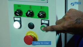 JPack Box Stretch Wrapping Machine With Power PreStretch