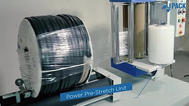 JPack Reel Stretch wrapping machine