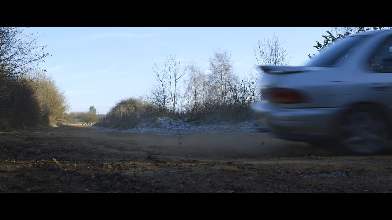 Rally Driving At Silverstone Rally School.