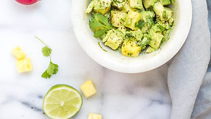 Avocado and coriander