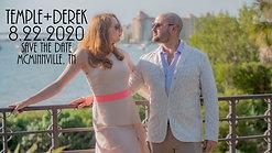 Derek & Temple Save The Date 4K