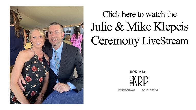 Julie & Mike Klepeis LiveStream