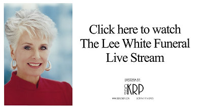 Lee White Funeral Live Stream