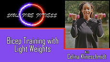 Bicep Training with light weights