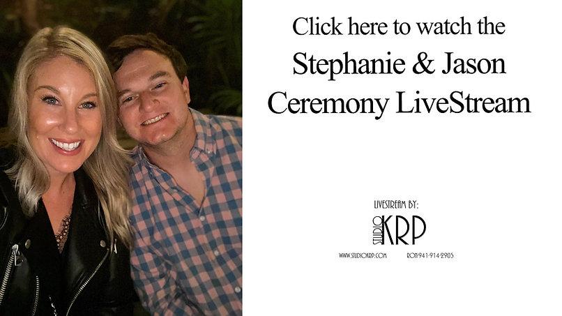Stephanie & Jason Livestream