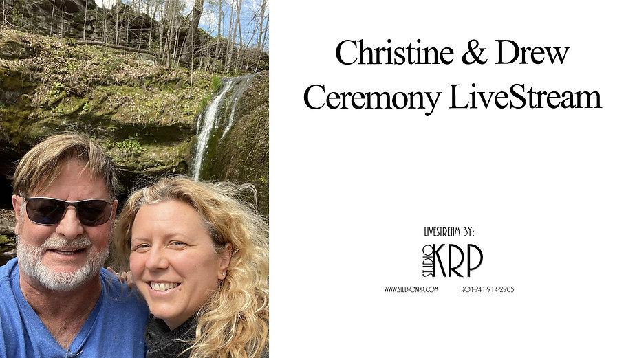 Christine and Drew Silverman Live Stream