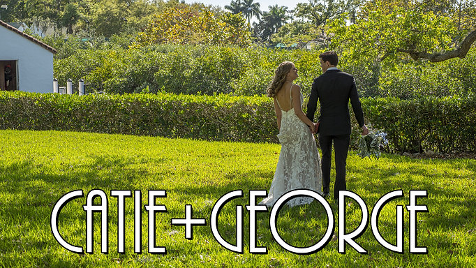 Catie & George Cinematic Wedding Film