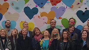 Realtors visit Charlotte's HeartWall
