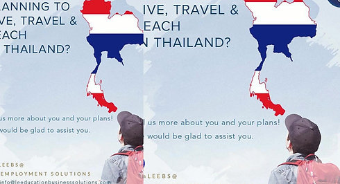 Planning to Travel, Live, and Teach in Thailand ?