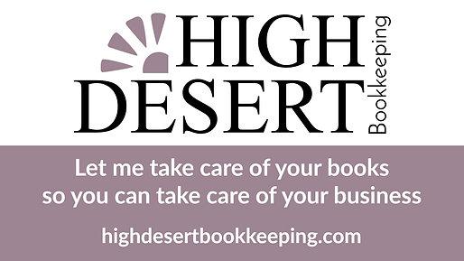 High Desert Bookkeeping