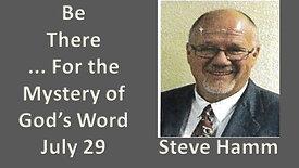 Steve Ham - 7/29/2020