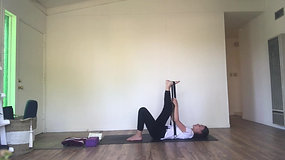 GENTLE YOGA FOR LOW BACK & SCIATIC PAIN with Natacha